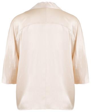 Oversize-Hemd im Pyjama-Stil aus Satin VINCE