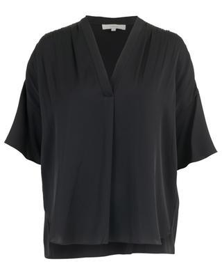 Bluse aus Seide mit V-Ausschnitt VINCE