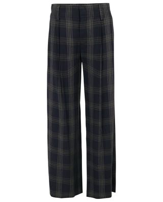 Pantalon large à carreaux VINCE