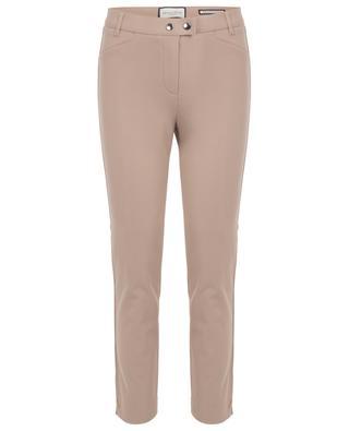 Pantalon slim en sergé de coton Franziska SEDUCTIVE