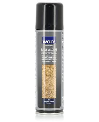 Dark Blue colour restore spray WOLY