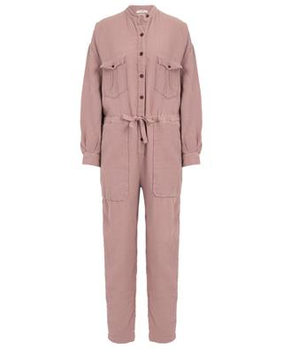 Jaya utilitarian spirit embossed cotton jumpsuit ISABEL MARANT