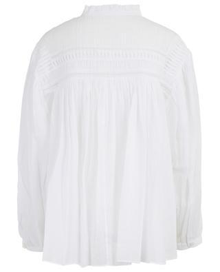Blouse large en coton avec fronces Lalia ISABEL MARANT