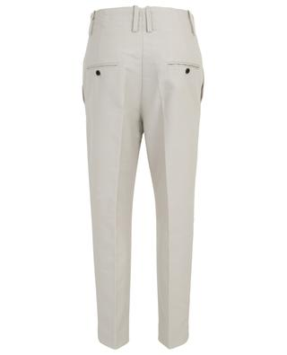 Pantalon droit taille haute en gabardine Goah ISABEL MARANT