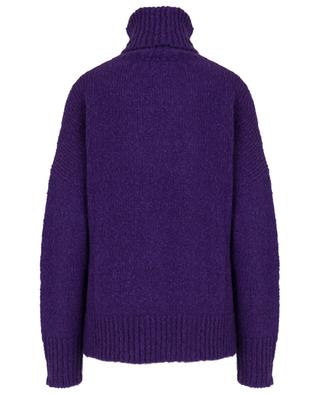 Shadow alpaca and cotton blend turtle neck jumper ISABEL MARANT
