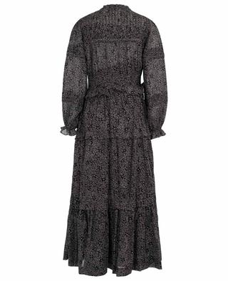 Likoya long floral cotton veil dress ISABEL MARANT
