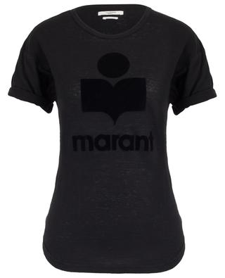 Koldi logo adorned linen T-shirt ISABEL MARANT
