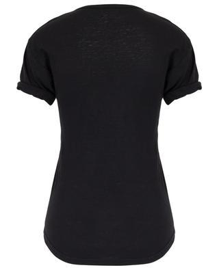 T-shirt en lin avec logo Koldi ISABEL MARANT