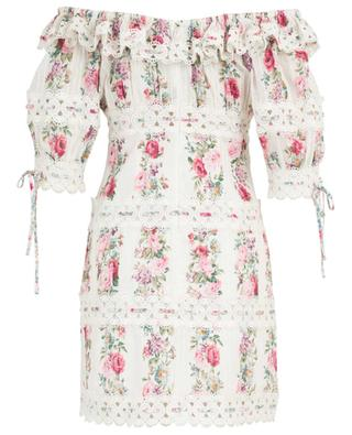 Honour floral off-shoulder dress with embroideries ZIMMERMANN