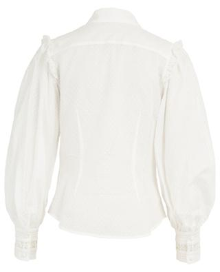 Honour cotton and lace shirt ZIMMERMANN