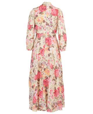 Honour long floral printed linen dress ZIMMERMANN