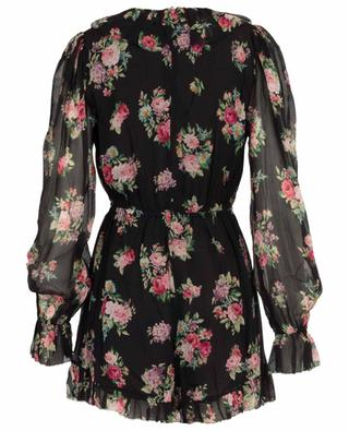 Honour floral silk playsuit ZIMMERMANN