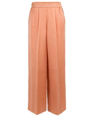 Cupro satin wide-leg trousers FORTE FORTE