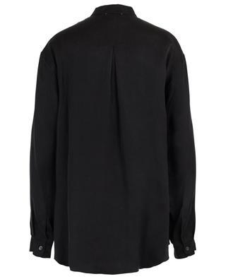 Chemise à col mao en satin de cupro FORTE FORTE