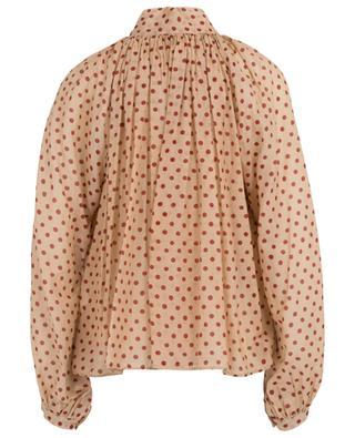 Hemd aus Baumwoll- und Seidenvoile Pois Gitans FORTE FORTE