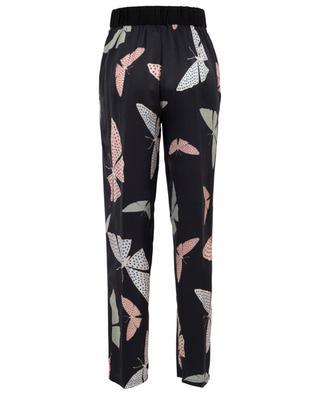Pantalon large en satin cloqué Papillons Gitans FORTE FORTE