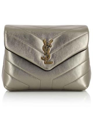 Loulou Toy quilted metallic leather bag SAINT LAURENT PARIS