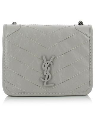 Minitasche aus Crinkle-Leder Niki Chain Wallet SAINT LAURENT PARIS