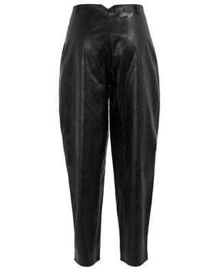 Thank You wide-leg vegan leather trousers PHILOSOPHY