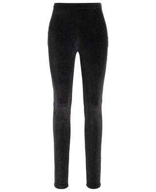 Glitter velvet legging trousers PHILOSOPHY