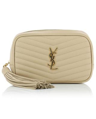 Lou quilted monogrammed mini bag SAINT LAURENT PARIS