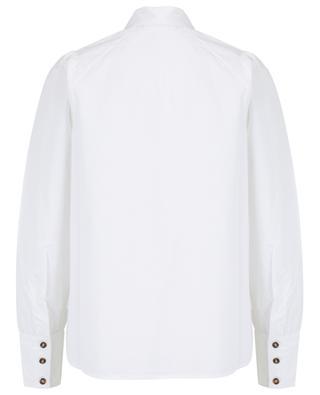Hemd aus Popeline mit Raglanärmeln GANNI