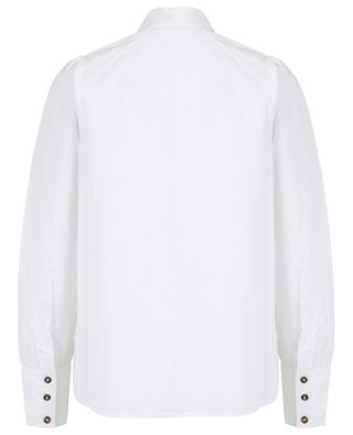 Raglan sleeve poplin shirt GANNI