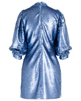 Sequined ballon sleeve mini dress GANNI