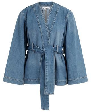 Denim kimono jacket GANNI