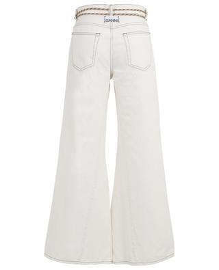 Weite Jeans mit hohem Taillenbund GANNI