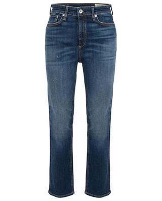 Nina high-rise distressed jeans RAG&BONE JEANS