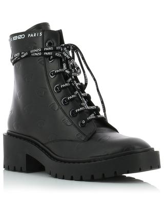 Pike eye embossed leather ankle boots KENZO
