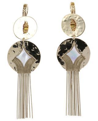 June mother-of-pearl earrings SATELLITE