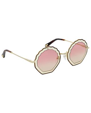 Tally shell sunglasses CHLOE