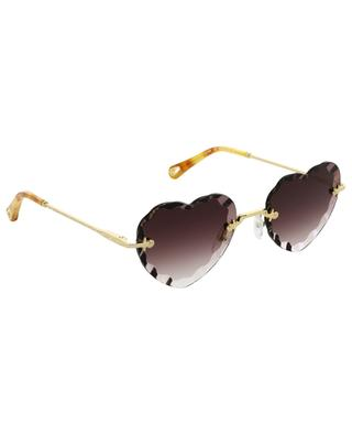 Rosie heart-shaped sunglasses CHLOE