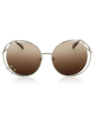 Runde Oversize-Sonnenbrille CHLOE
