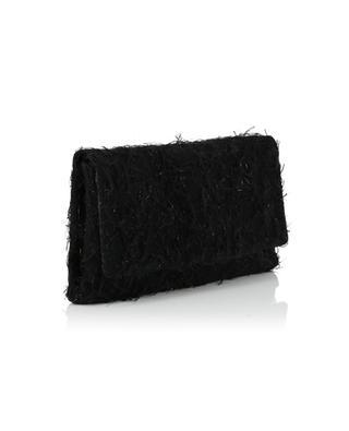 Rebecca virgin wool and Lurex clutch FABIANA FILIPPI