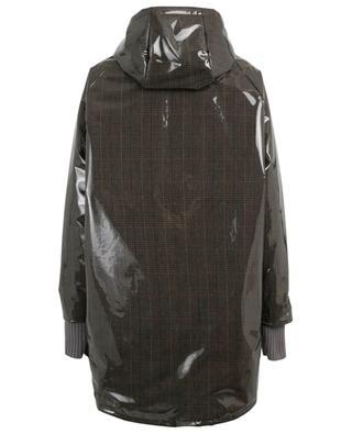 Jelly effect glen check down jacket FABIANA FILIPPI