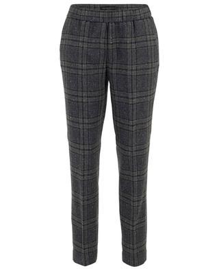 Gubbio checked wool trousers FABIANA FILIPPI