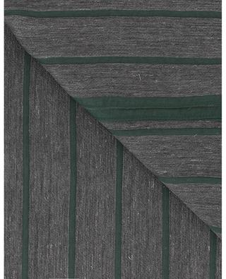 Thin striped glittering scarf FABIANA FILIPPI