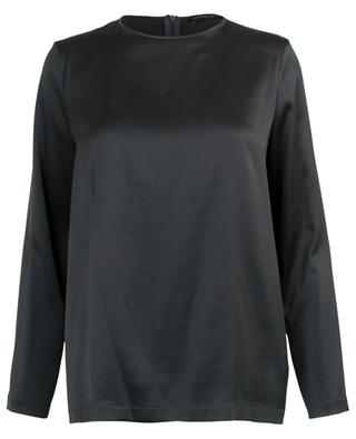 Long-sleeved breezy silk top FABIANA FILIPPI