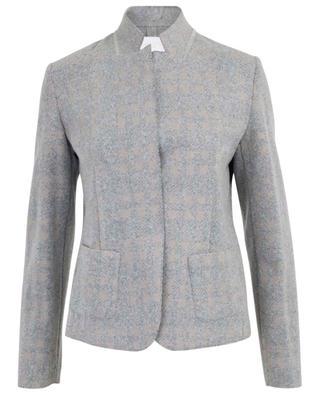 Blazer tricot à carreaux FABIANA FILIPPI