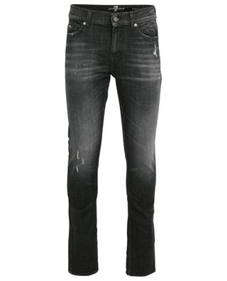 Skinny-Fit-Jeans im Used-Look Ronnie Texas Soul Washed 7 FOR ALL MANKIND