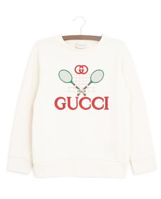 Gucci Tennis embroidered sweatshirt GUCCI