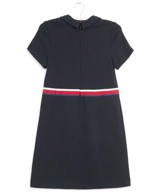 Sylvie Web ruffled felted cotton dress GUCCI