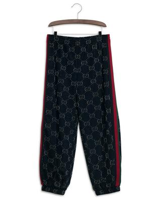 GG Lamé jogging trousers GUCCI
