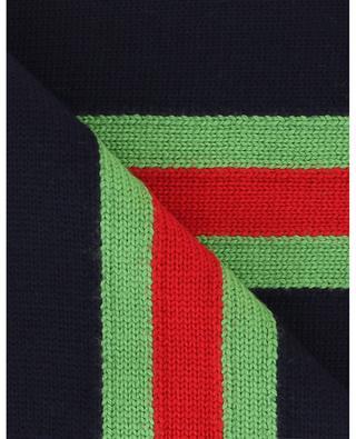 Écharpe tricot Web Band Intarsia GUCCI