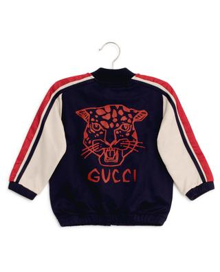 GG trim baby sweatshirt GUCCI