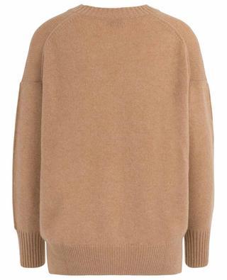 Loose round-neck cashmere jumper ALLUDE