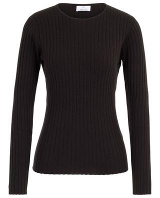Rib knit cashmere jumper ALLUDE